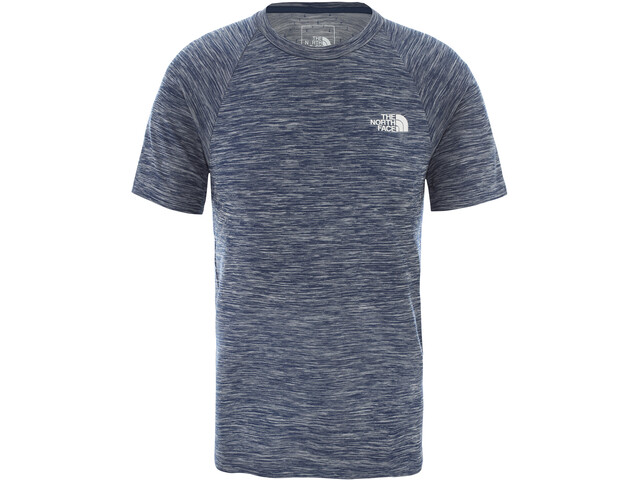 The North Face Impendor Seamless T-shirt Herrer, blue wing teal white heather